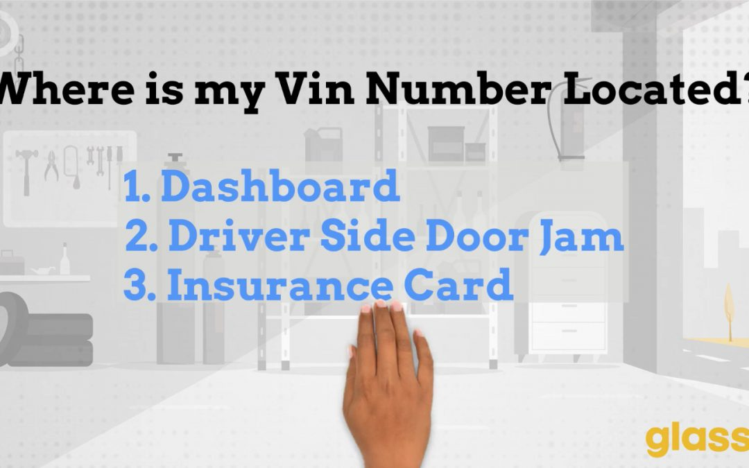 Where to Find Your VIN Number